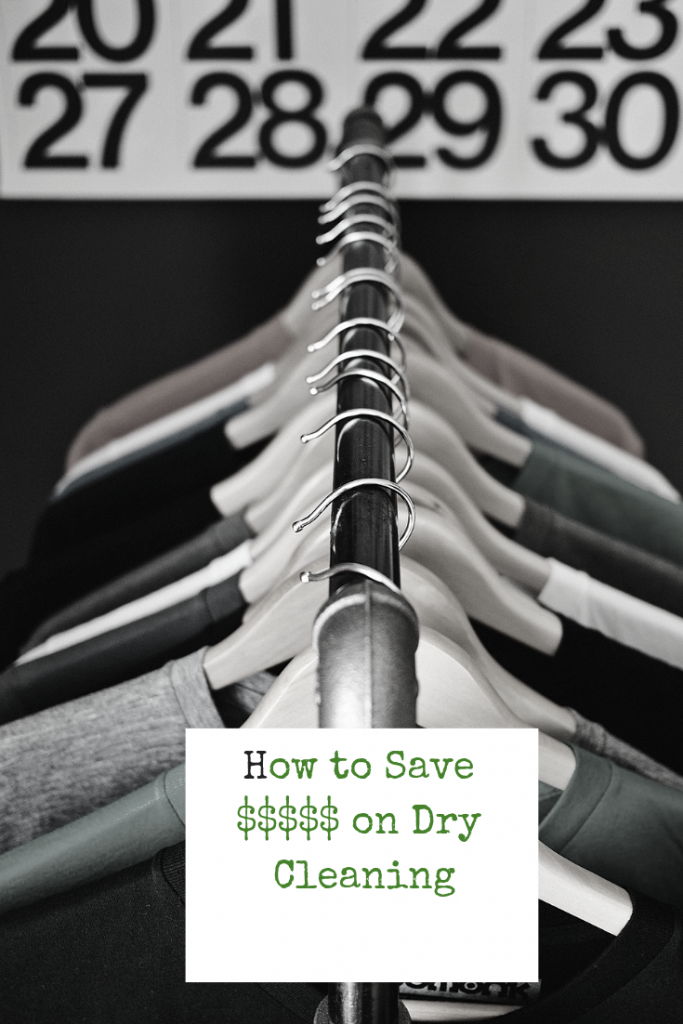This method will save you $100's of dollars in dry cleaning bills